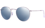 Ray-Ban ROUND METAL FLASH LENSES RB3447-1 - 019/30 Sunglasses