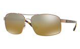 Ray-Ban CHROMANCE RB3604CH - 121/A2 Sunglasses