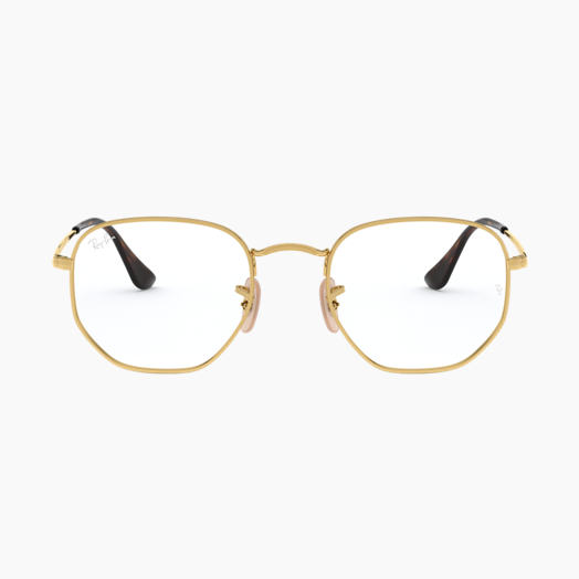 Ray-Ban Eyeglasses Hexagonal Optics
