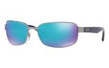 Ray-Ban CHROMANCE RB3566CH - 004/A1 Sunglasses