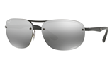 Ray-Ban CHROMANCE RB4275CH - 601S/5J Sunglasses