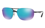 Ray-Ban CHROMANCE RB4275CH - 601/A1 Sunglasses