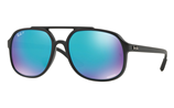 Ray-Ban CHROMANCE RB4312CH - 601S/A1 Sunglasses