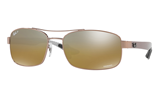 Ray-Ban CHROMANCE RB8318CH - 121/A2 Sunglasses