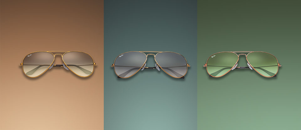 Ray-Ban Aviator Gradient Lenses